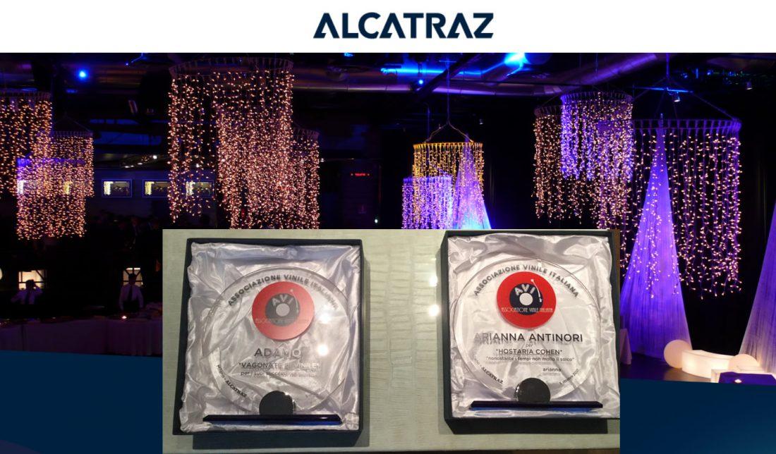 Alcatraz - Premiazione AVI ad adamo