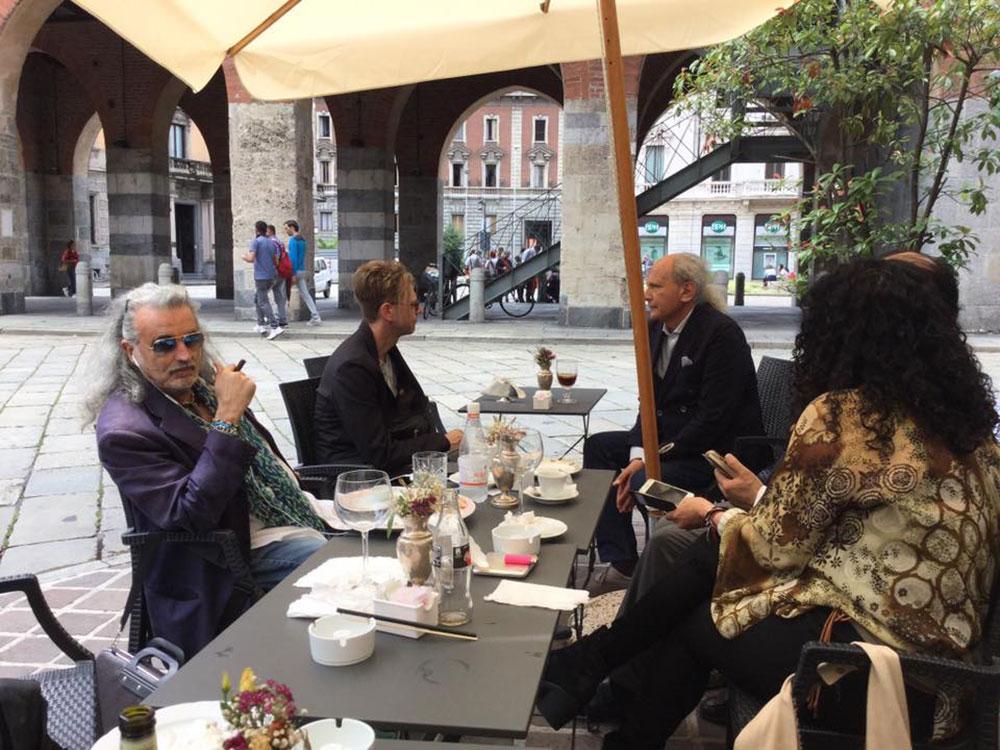 Aperitivo con il maestro Rodolfo Maria Gordini