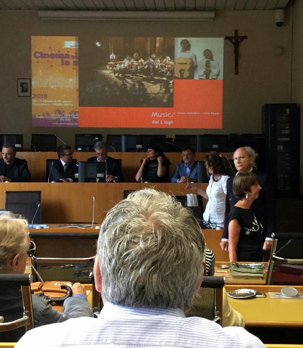 Conferenza stampa: presentazione della Festa della musica, Sala del consiglio del Comune